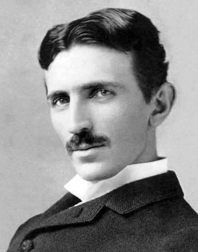Nikola Tesla, 1856-1943 Eccentric, engineering genius.  Finally beginning to get his due recognition almost 70 years after his death.  Pictured here in 1893 at age 37, two years after becoming a naturalized citizen of the United States. http://www.bbc.co.uk/news/magazine-19503846