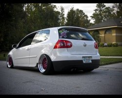lilly-mouse:  Modified VW Golf GTi Mk5
