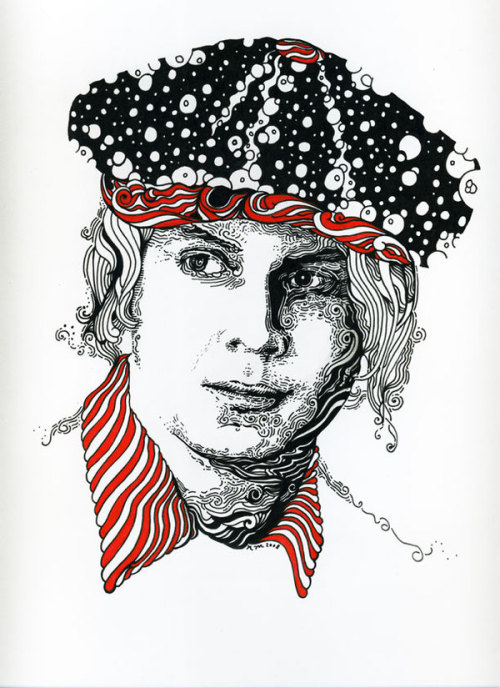 Jack White Portrait by Nathan Manire