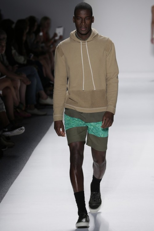 Timo Weiland Men's RTW Spring 2013 - NYFW. (Photo by Thomas Iannaccone)