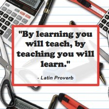 Teachers are learners as well…