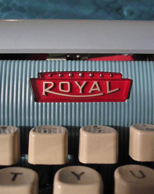 chromeography:  Royal typewriter (by alissa) More typewriters »