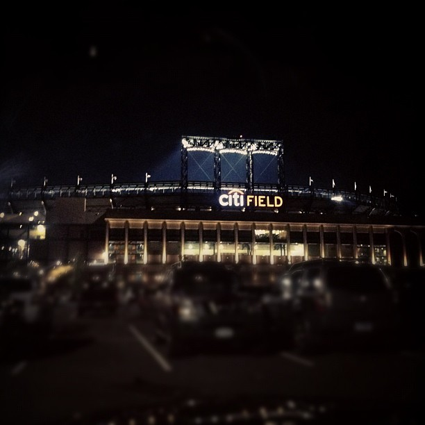 Leaving Citi Field.  (Taken with Instagram)