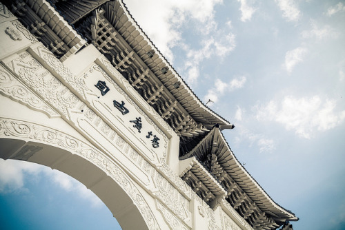 takemetotaiwan:  中正紀念堂, 自由廣場, C.K.S Memorial Hall,Taipei by Never House on Flickr.