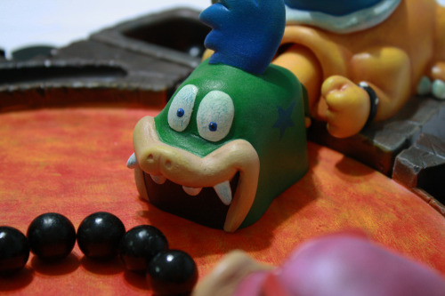 dotcore:  Hungry Hungry Koopas.This piece will be available at El Paso Comic Con starting September 14th. If it does not sell, it will be available on my website. If you would like to see more pictures, please go to my Flickr Page. via Kodykoala.  Which lever do you press to spit fire?