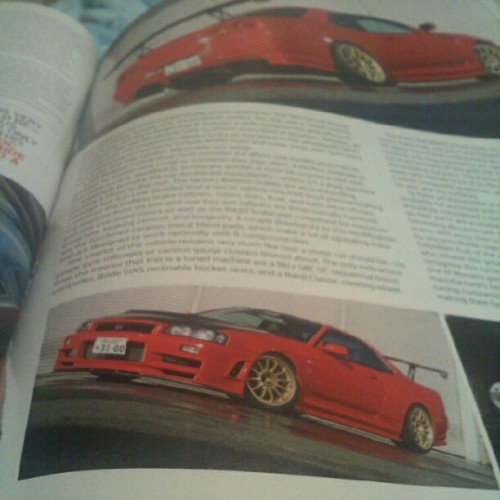 Reason #1 to read tuner mags: dope ass cars. #nissan #nismo #skyline #gtr #r34 #jdm #sexy (Taken with Instagram)