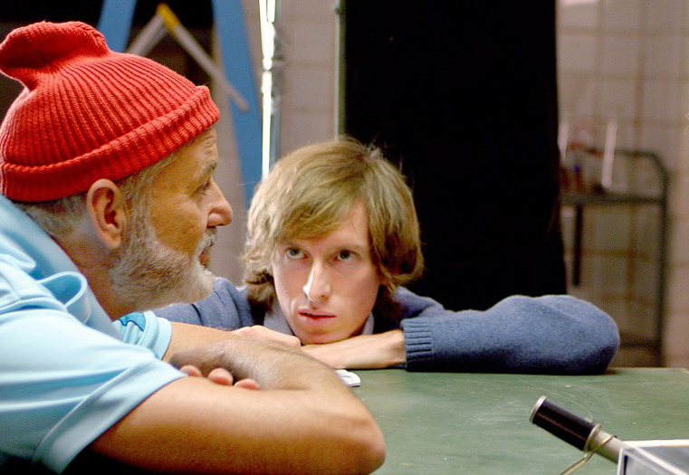 Wes Anderson doing work.