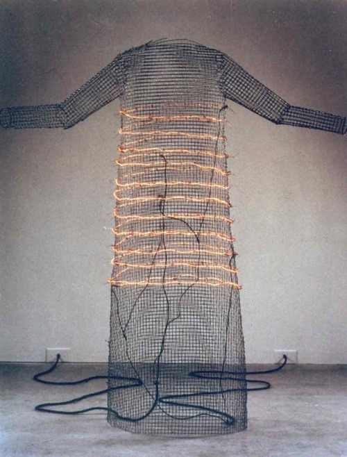 Jana SterbakI want you to feel the way I do … (The Dress)1984-5sculpture
