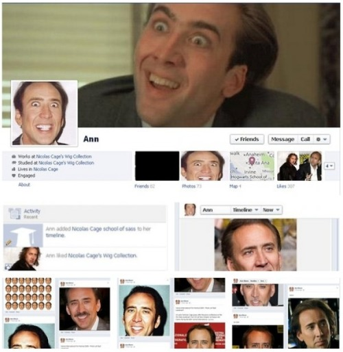 If this isn't how your facebook looks you're using facebook wrong.
