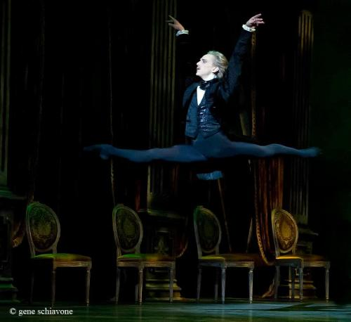 vivoroni:  David Hallberg in John Cranko's Onegin, photo by Gene Schiavone.