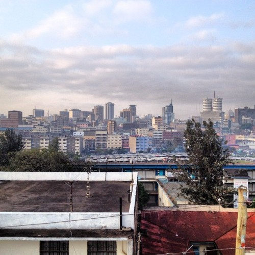 Nairobi sunrise (Taken with Instagram)