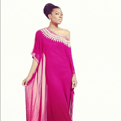 "#yarayosif #kaftan #dress ""Fatima"" #design, order online from YaraYosif.com , #photography by @gregwaldo #modeling Nikisha @femmeDeLaMode #mua @lilyangelica , #hair by GaudeAndGold.com.  (Taken with Instagram)"