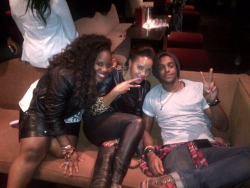 Photo: Reblog adoreangela: Angela Simmons, Kanayo & @AustinBrown