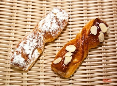 Twisted Danish Sugar twist, almond twist or cinnamon-raisin twist absolutely great breakfast breads