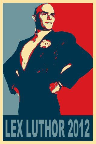dylansindelar:  The newest poster from the Romney Campaign. Word has it that Mittens shaved his head and adopted the name of his idol the other night, following the release of a video in which he channels Andrew Ryan and essentially calls half of the nation parasites. Bold move, GOP. We'll see how it plays out.