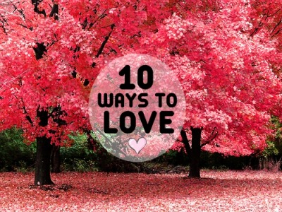 lifelovewishesanddreams:  10 WAYS TO LOVE: Listen without interrupting (Proverbs 18) Speak without accusing (James 1:19) Give without sparing (Proverbs 21:26) Pray without ceasing (Colossians 1:9) Answer without arguing (Proverbs 17:1) Share without pretending (Ephesians 4:15) Enjoy without complaint (Philippians 2:14) Trust without wavering (Corinthians 13:7) Forgive without punishing (Colossians 3:13) Promise without forgetting (Proverbs 13:12) Love unconditionally. Love like Jesus.:)   :)