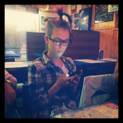 @soniiia_m get off your phone! #yesiamahypocrite (Taken with Instagram)