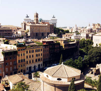 allthingseurope:  View from Palatino, Rome (by Ildegarde Grznic)