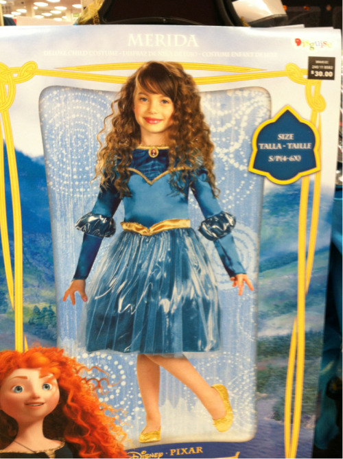 Strange, I also do not remember that time Merida worked at Ice Capades.