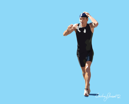 Triathlete :: Illustration