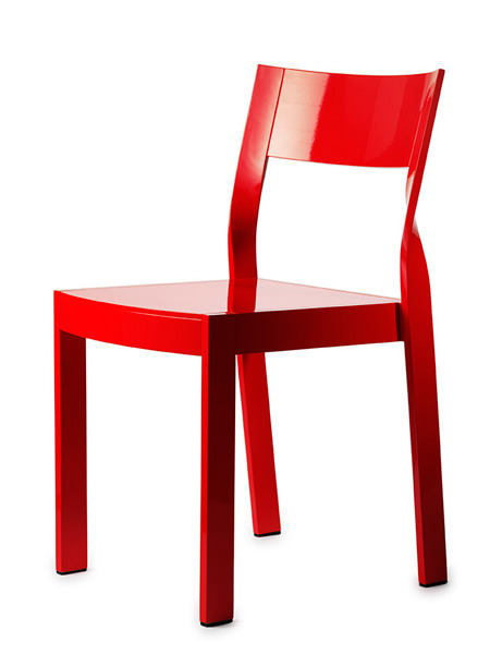 jessicasignellknutsson:  I was also asked about a kitchen chair. This is a really nice chair, Twist by Anna von Schewen for Gärsnäs 2009.