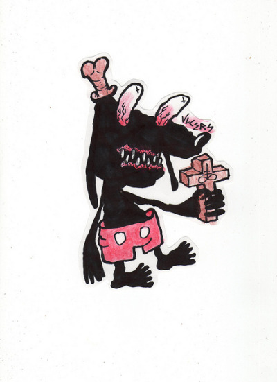iheartvlcers:  Disney Creep sticker on Flickr.