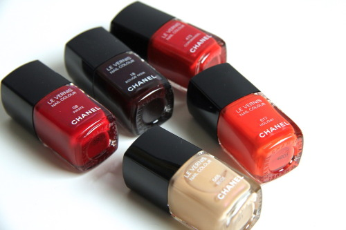 Love these classic Chanel nail lacquers! What's your favorite?