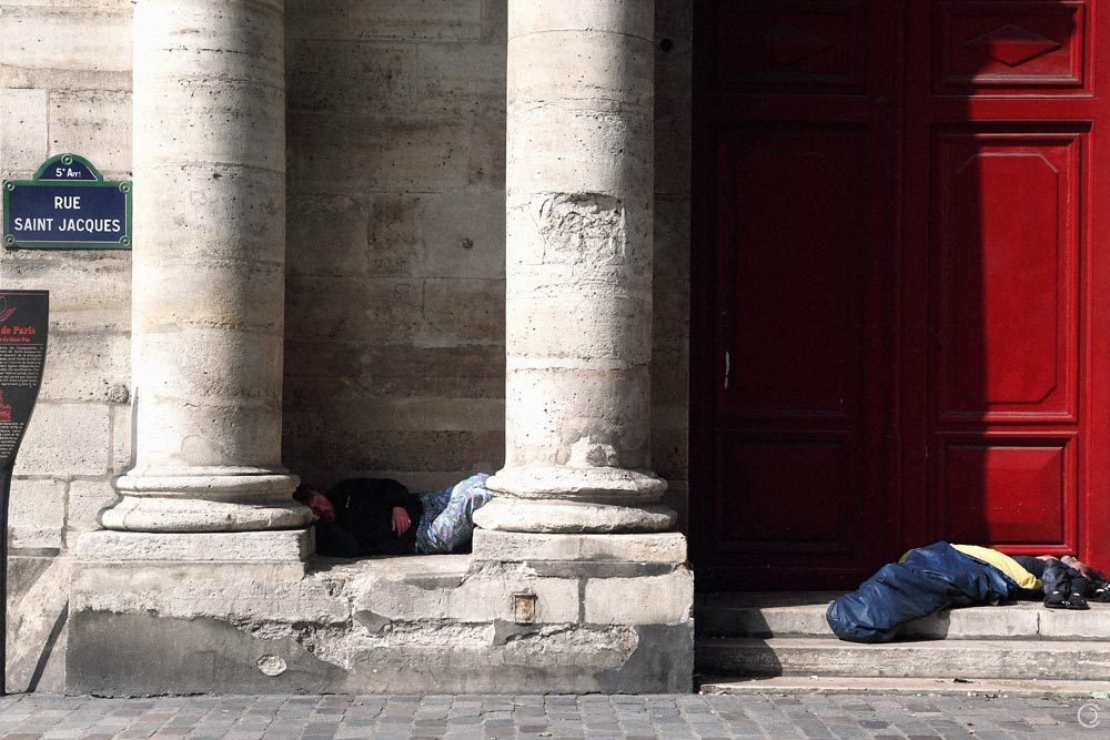 Sleepers, Rue Saint Jacques, Paris