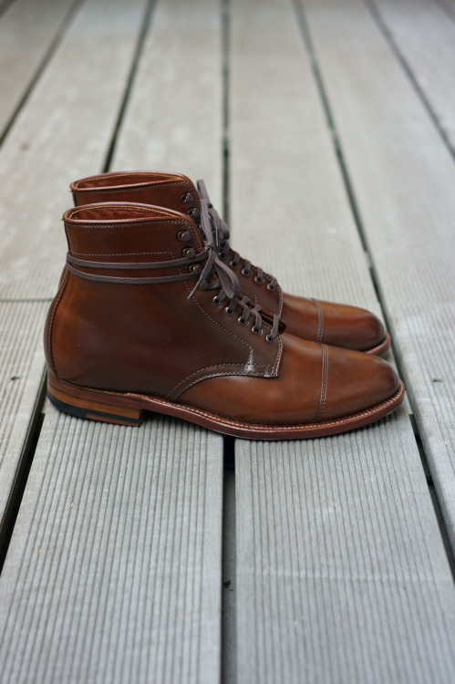 Thinking of Fall 3 Alden Hunting Boot - Ravello Shell Cordovan, Flex-Welt, Waterloc Sole, Barrie Last