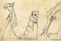 More characters for a cancelled fantasy project. © 2012 Juan Bauty