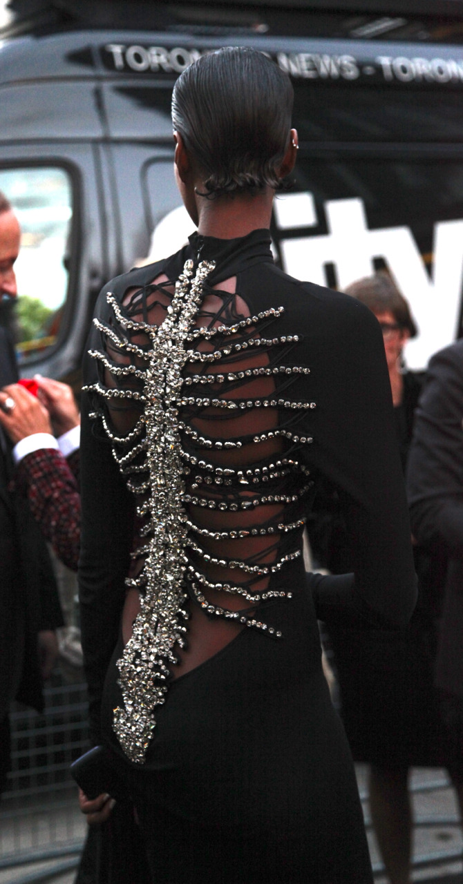 somalibeauty:  Yasmin Warsame in DSQUARED2 at the Toronto International Film Festival (TIFF) in Toronto, Canada September 2012