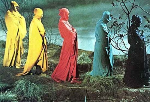 "sariofaciddiccolours:  ""The Masque of the Red Death""Roger Corman"
