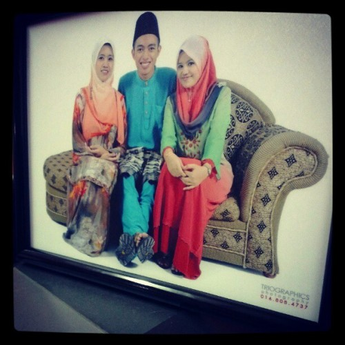 Along, adik & me. Love till jannah. Hiks. #siblings #love #sister #brother #family #malaysian #tilljannah  (Taken with Instagram)