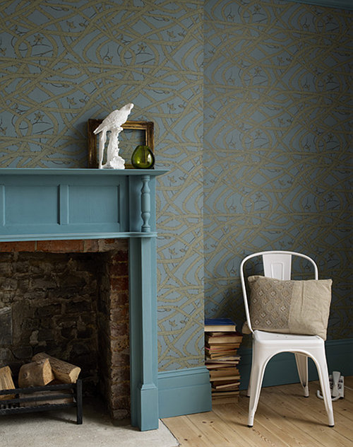 Bramble wallpaper by Abigail Edwards