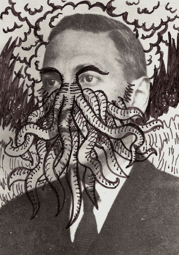 Michael Daye - 'H.P. Lovecraft'