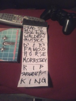 Last night's setlist! Such a great show! Also, I definitely recommend checking out Mrs. Skannatto & Junior Battles, they were fucking great! And of course Less Than Jake was tits nasty!