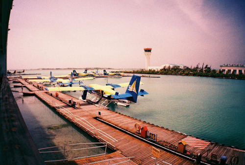 filmisgod:  Air Taxi Dock by May Pamintuan Lomo LC-A+ Lomography X T64