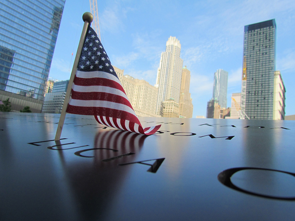 Photo of the Day: Memorial Day at Ground Zero.  Photo by: Carly Paterson (Gales Ferry, Connecticut); New York, New York