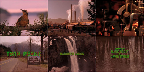 artofthetitle:  Twin Peaks Revisit David Lynch's sleepy Pacific Northwestern nightmare in the titles for the celebrated series Twin Peaks.
