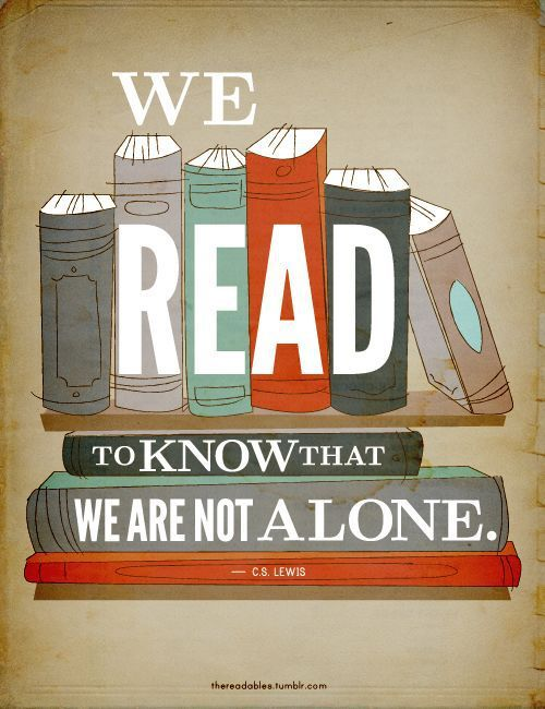 "Exactly. I love reading a book and being like, ""Wow, this person read my mind."" or ""I can totally relate."" etc."