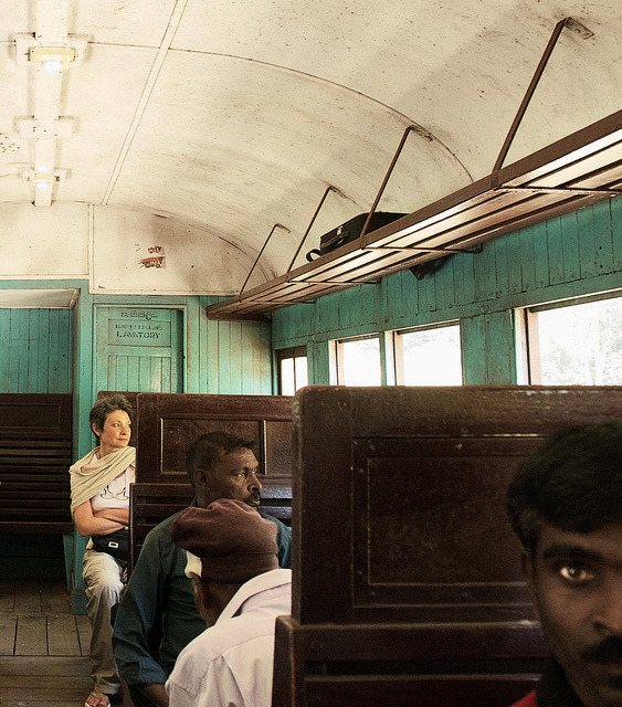 cherylquincy:  Train, tourist, eye portrait - Sri Lanka by Wolfgang Frédéric Nitschke on Flickr.