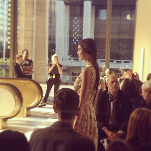 Sparkle spotted at @toryburch #dailysparkle #nyfw #qvcstyle  (Taken with Instagram)