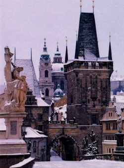 thegiftsoflife:  Prague in the Winter