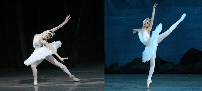 masterpiecesofhumanity:           The sad news? Mariinsky Ballet primas Viktoria Tereshkina & Alina Somova won't perform with the company in L.A. The happy news? They're both pregnant. Congratulations!