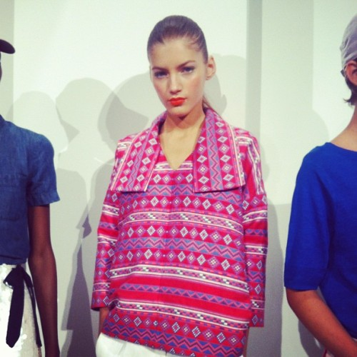 Not a want, but a need @jcrew_insider #nyfw  (Taken with Instagram)