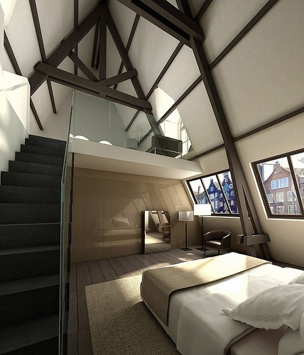 justthedesign:  Bedroom By Piero Lissoni