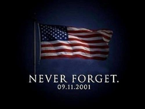firstbook:  Today we remember all of those lost on September 11, 2001. Let us honor their memories by being of service to others.