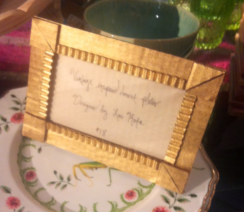spotted: cute cardboard-painted-gold frames at anthropologie. I smell a craft project…. especially with all these leftover moving boxes… where's my Exacto?