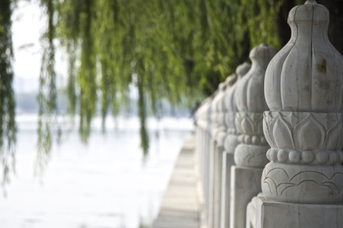 A look onto Houhai Lake, Beijing