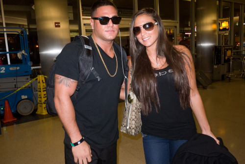 Ronnie and Sammi at LAX